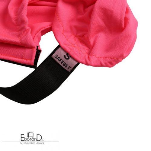 Bőröndhuzat, rózsaszín/pink színű, S-es méret