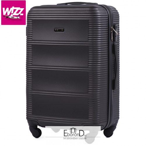 Wings 203-4 S kabinbőrönd Wizzair sötétszürke