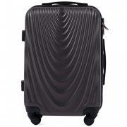 Bőrönd M méret, keményfedeles sötétszürke Wings